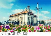 Купить «Museum of national history and archaeology, Constanta», фото № 28974126, снято 20 сентября 2017 г. (c) Яков Филимонов / Фотобанк Лори