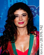 Pooja Batra at arrivals for HBO's Post_Emmy Awards Party _ Part 2, The Plaza at Pacific Design Center, Los Angeles, CA September 18, 2016. Photo By: James Atoa/Everett Collection. Редакционное фото, фотограф James Atoa/Everett Collection / age Fotostock / Фотобанк Лори
