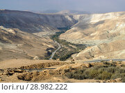 Picturesque views of Ein Avdat and Zin Valley. Negev, desert and semidesert region of southern Israel (2018 год). Стоковое фото, фотограф Валерия Попова / Фотобанк Лори