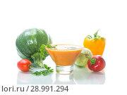 Купить «homemade vegetable caviar with zucchini in a glass bowl», фото № 28991294, снято 26 августа 2018 г. (c) Peredniankina / Фотобанк Лори