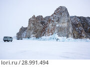 Купить «Lake Baikal in winter», фото № 28991494, снято 3 марта 2017 г. (c) Юлия Белоусова / Фотобанк Лори