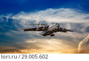 Купить «Dramatic sky», фото № 29005602, снято 21 января 2019 г. (c) Mikhail Starodubov / Фотобанк Лори