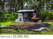 Купить «Burnt house in Jurmala, Latvia, Europe.», фото № 29008306, снято 19 августа 2018 г. (c) age Fotostock / Фотобанк Лори