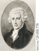 Купить «(Franz) Joseph Haydn, 1732-1809. Austrian composer of the Classical period. Illustration by Gordon Ross, American artist and illustrator (1873-1946), from Living Biographies of Great Composers.», фото № 29008778, снято 22 октября 2019 г. (c) age Fotostock / Фотобанк Лори