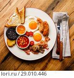 Купить «Английский завтрак», фото № 29010446, снято 25 августа 2018 г. (c) Лисовская Наталья / Фотобанк Лори