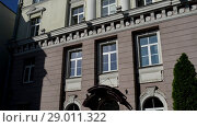 Купить «building of Supreme Court of RB in Minsk», видеоролик № 29011322, снято 7 июля 2017 г. (c) BestPhotoStudio / Фотобанк Лори