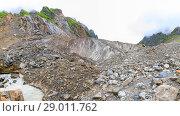 Купить «Mestiachala river near Chalaadi glacier in Caucasus mountains in summer in Georgia», фото № 29011762, снято 27 марта 2019 г. (c) Mikhail Starodubov / Фотобанк Лори