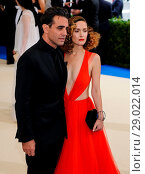 Купить «The Met Gala 2017 - Arrivals Featuring: Bobby Cannavale, Rose Byrne Where: New York, United States When: 01 May 2017 Credit: WENN.com», фото № 29022014, снято 1 мая 2017 г. (c) age Fotostock / Фотобанк Лори