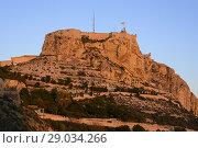 Купить «Castle of Santa Barbara of Alicante, Valencia, Spain», фото № 29034266, снято 23 декабря 2016 г. (c) age Fotostock / Фотобанк Лори