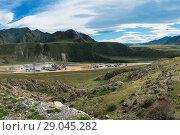 Купить «Stone factory in mountains», фото № 29045282, снято 22 августа 2018 г. (c) Jan Jack Russo Media / Фотобанк Лори
