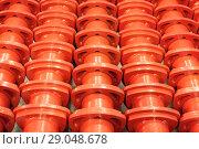 Купить «Industrial machine for grinding debris.», фото № 29048678, снято 18 октября 2017 г. (c) Андрей Радченко / Фотобанк Лори
