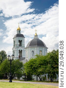 Scenic view of the church. Стоковое фото, фотограф Владимир Ковальчук / Фотобанк Лори