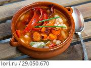 Купить «Bulgarian dish Bob chorba», фото № 29050670, снято 15 декабря 2018 г. (c) Яков Филимонов / Фотобанк Лори
