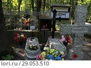 Купить «Смоленское православное кладбище г. Санкт-Петербург. Могила 40 мученикам», эксклюзивное фото № 29053510, снято 28 августа 2018 г. (c) Инна Козырина (Трепоухова) / Фотобанк Лори