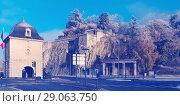 Купить «Porte de France and Jardin des Dauphins, Grenoble, France», фото № 29063750, снято 7 декабря 2017 г. (c) Яков Филимонов / Фотобанк Лори