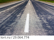 Купить «Highway turn», фото № 29064774, снято 24 мая 2015 г. (c) Юрий Бизгаймер / Фотобанк Лори