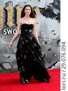 Купить «King Arthur: Legend of the Sword - European film premiere at the Cineworld Empire, Leicester Square, London Featuring: Ella Hunt Where: London, United Kingdom When: 10 May 2017 Credit: WENN.com», фото № 29076094, снято 10 мая 2017 г. (c) age Fotostock / Фотобанк Лори