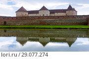 Купить «Image of Castle in Fagaras», фото № 29077274, снято 17 сентября 2017 г. (c) Яков Филимонов / Фотобанк Лори