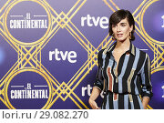 Купить «Paz Vega attends 'El Continental' Premiere at Callao Cinema on September 13, 2018 in Madrid, Spain», фото № 29082270, снято 13 сентября 2018 г. (c) age Fotostock / Фотобанк Лори