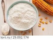 Купить «Starch and corn cob», фото № 29092174, снято 19 марта 2018 г. (c) Надежда Мишкова / Фотобанк Лори