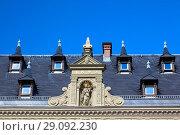 Купить «Traditional house in the historic part of Erfurt, Thuringia, Germany», фото № 29092230, снято 4 октября 2010 г. (c) Serg Zastavkin / Фотобанк Лори