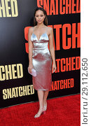 Купить «Film premiere of 'Snatched' held at the Regency Village Theatre - Arrivals Featuring: Amber Stevens Where: Los Angeles, California, United States When: 11 May 2017 Credit: Apega/WENN.com», фото № 29112650, снято 11 мая 2017 г. (c) age Fotostock / Фотобанк Лори