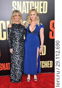 Купить «Film premiere of 'Snatched' held at the Regency Village Theatre - Arrivals Featuring: Goldie Hawn, Amy Schumer Where: Los Angeles, California, United States When: 11 May 2017 Credit: Apega/WENN.com», фото № 29112690, снято 11 мая 2017 г. (c) age Fotostock / Фотобанк Лори