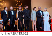 Купить «70th Cannes Film Festival - Gala Opening - 'Ismael's Ghosts' red carpet Featuring: Arnaud Desplechin, Marion Cotillard, Louis Garrel, Charlotte Gainsbourg...», фото № 29115662, снято 17 мая 2017 г. (c) age Fotostock / Фотобанк Лори
