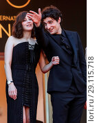 Купить «70th Cannes Film Festival - Gala Opening - 'Ismael's Ghosts' red carpet Featuring: Marion Cotillard, Louis Garrel Where: Cannes, France When: 17 May 2017 Credit: WENN.com», фото № 29115718, снято 17 мая 2017 г. (c) age Fotostock / Фотобанк Лори