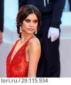 Купить «70th Cannes Film Festival - Gala Opening - 'Ismael's Ghosts' red carpet Featuring: Sara Sampaio Where: Cannes, United Kingdom When: 17 May 2017 Credit: John Rainford/WENN.com», фото № 29115934, снято 17 мая 2017 г. (c) age Fotostock / Фотобанк Лори