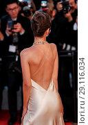 Купить «70th Cannes Film Festival - Gala Opening - 'Ismael's Ghosts' red carpet Featuring: Emily Ratajkowsi Where: Cannes, United Kingdom When: 17 May 2017 Credit: John Rainford/WENN.com», фото № 29116034, снято 17 мая 2017 г. (c) age Fotostock / Фотобанк Лори