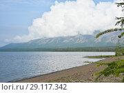 Купить «Плато Путорана, озеро Кета», фото № 29117342, снято 9 августа 2015 г. (c) Сергей Дрозд / Фотобанк Лори