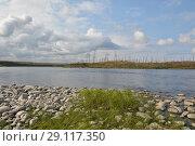 Купить «Река Рыбная на Таймыре», фото № 29117350, снято 13 августа 2015 г. (c) Сергей Дрозд / Фотобанк Лори