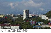 Купить «Петропавловск-Камчатский», видеоролик № 29127446, снято 22 сентября 2018 г. (c) А. А. Пирагис / Фотобанк Лори