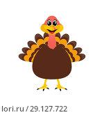 Купить «Turkey Pilgrim on Thanksgiving Day», иллюстрация № 29127722 (c) Мастепанов Павел / Фотобанк Лори