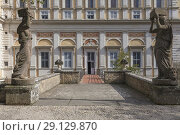 Купить «Villa Farnese, Villa Caprarola, Viterbo, Lazio, Italy.», фото № 29129870, снято 25 февраля 2018 г. (c) age Fotostock / Фотобанк Лори