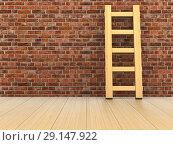 Купить «staircase in room. 3D illustration», иллюстрация № 29147922 (c) Ильин Сергей / Фотобанк Лори