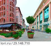 Купить «Горки город. Красная поляна, Сочи.», фото № 29148710, снято 17 июня 2019 г. (c) Игорь Архипов / Фотобанк Лори