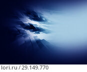 Купить «Abstract blue background for design», иллюстрация № 29149770 (c) ElenArt / Фотобанк Лори