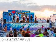 Концерт самодеятельности в Геленджике (2018 год). Редакционное фото, фотограф Алексей Шматков / Фотобанк Лори