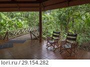 Купить «Aninga Evergreen Lodge, Guesthouse-Tortuguero National Park, Costa Rica.», фото № 29154282, снято 13 апреля 2018 г. (c) age Fotostock / Фотобанк Лори