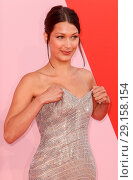 Купить «Fashion for Relief show at Hanger 16 in the Cannes-Mandelieu airport - Arrivals Featuring: Bella Hadid Where: Cannes, France When: 21 May 2017 Credit: WENN.com», фото № 29158154, снято 21 мая 2017 г. (c) age Fotostock / Фотобанк Лори