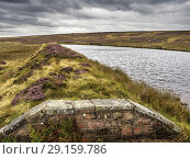 Купить «Lower Lanshaw Dam on Burley Moor West Yorkshire England.», фото № 29159786, снято 17 августа 2018 г. (c) age Fotostock / Фотобанк Лори