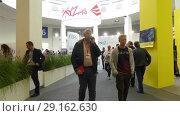 Купить «Pavilion 3D printers at IFA, Berlin, Germany», видеоролик № 29162630, снято 25 мая 2017 г. (c) BestPhotoStudio / Фотобанк Лори