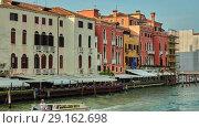 Купить «Cannaregio in Venice, Italy», видеоролик № 29162698, снято 1 июля 2018 г. (c) BestPhotoStudio / Фотобанк Лори
