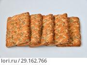 Купить «The dietetic biscuits with a sunflower seeds», фото № 29162766, снято 29 сентября 2018 г. (c) Володина Ольга / Фотобанк Лори