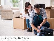 Купить «Young couple receiving foreclosure notice letter», фото № 29167866, снято 23 марта 2018 г. (c) Elnur / Фотобанк Лори