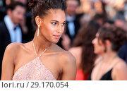 Купить «70th Cannes Film Festival - 'The Beguiled' red carpet Featuring: Cindy Bruna Where: Cannes, United Kingdom When: 24 May 2017 Credit: John Rainford/WENN.com», фото № 29170054, снято 24 мая 2017 г. (c) age Fotostock / Фотобанк Лори