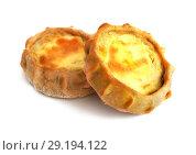 Калитки из пресного теста с мятым картофелем. Стоковое фото, фотограф ElenArt / Фотобанк Лори