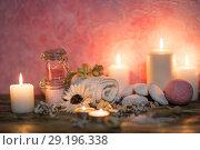 Купить «Items for spa», фото № 29196338, снято 22 марта 2018 г. (c) Типляшина Евгения / Фотобанк Лори